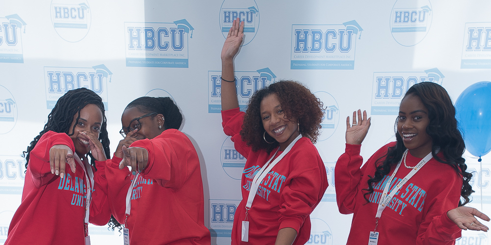Student attendees at HBCU career market 2017